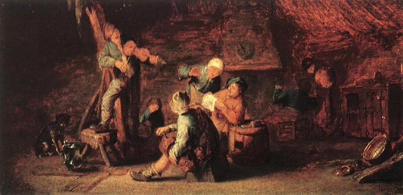 Village Feast. Adriaen Van Ostade