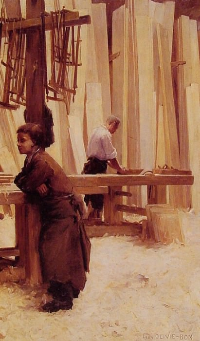 The Apprentice. Bon Leon Olivie