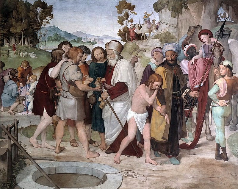 Joseph Sold by his Brothers. Johann Friedrich Overbeck