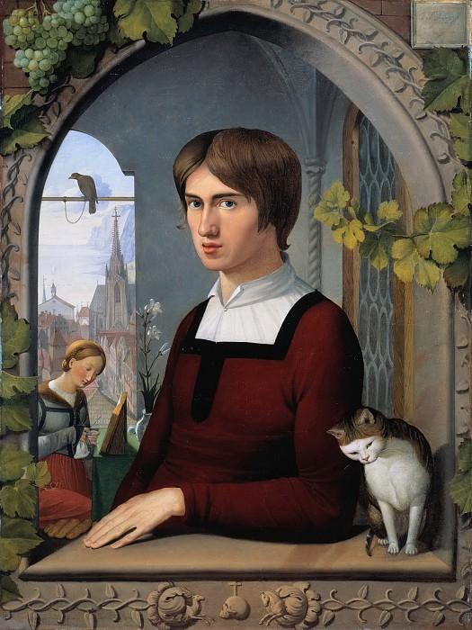 Портрет художника Франца Пфорра. Иоганн Фридрих Овербек