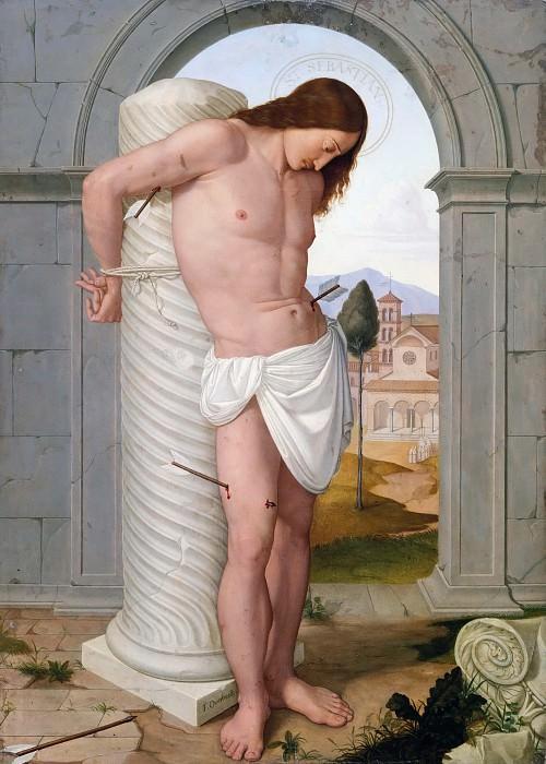 Saint Sebastian. Johann Friedrich Overbeck