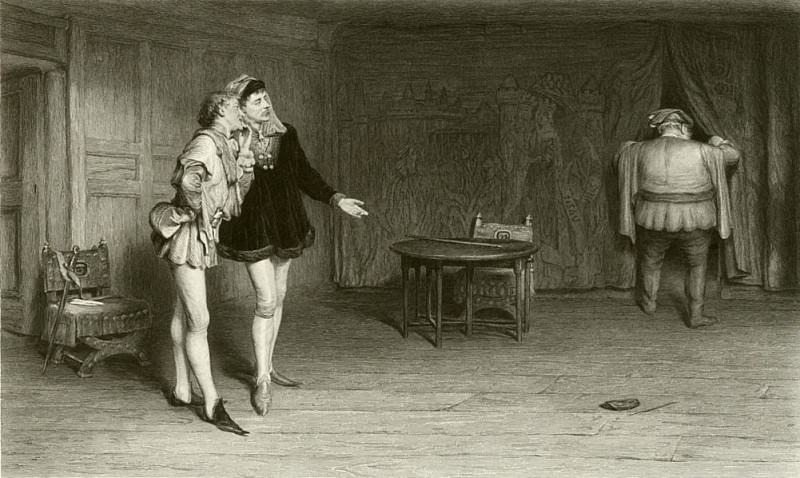 Prince Henry Poins and Falstaff. Sir William Quiller Orchardson