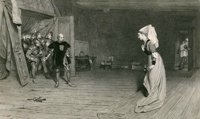 Talbot and the Countess of Auvergne, King Henry VI, First Part. Sir William Quiller Orchardson