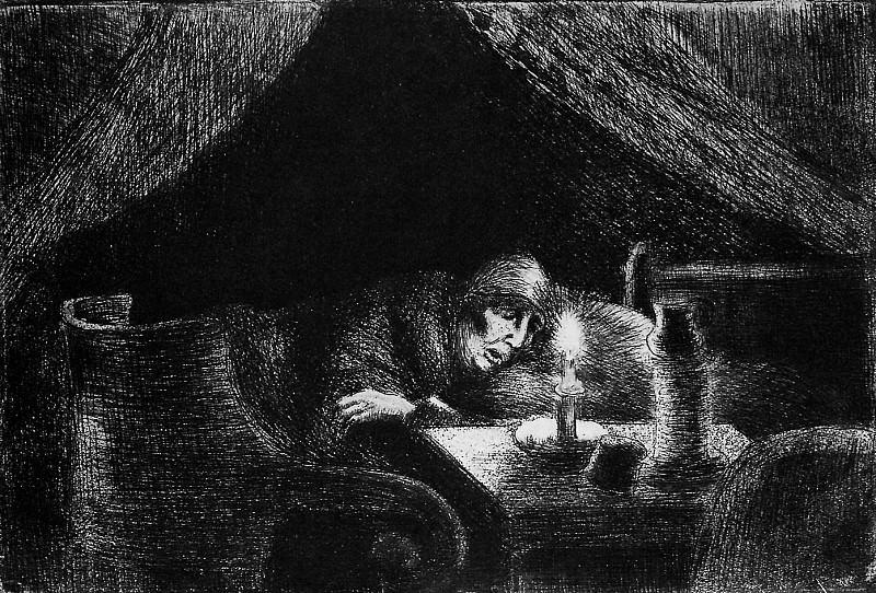 Grandmother. Camille Pissarro