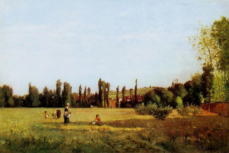 Varenne Saint Hilaire. Camille Pissarro