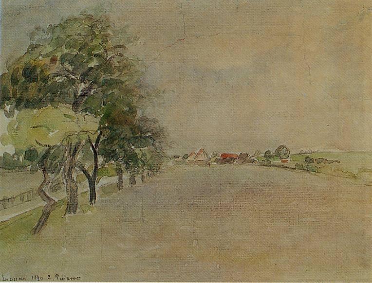 Eragny. (1890). Camille Pissarro