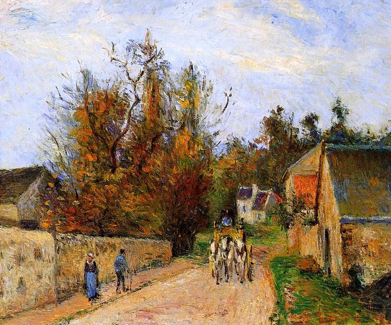The diligence. Camille Pissarro