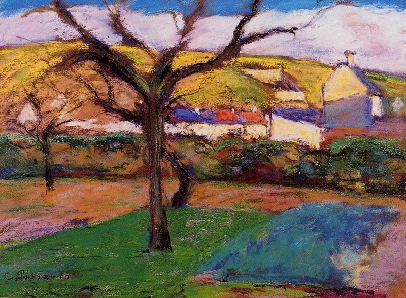 Landscape. Camille Pissarro
