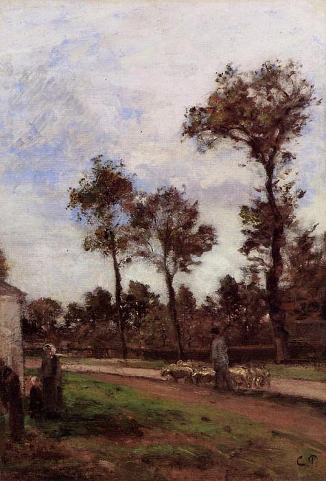 Louviciennes. (1870). Camille Pissarro