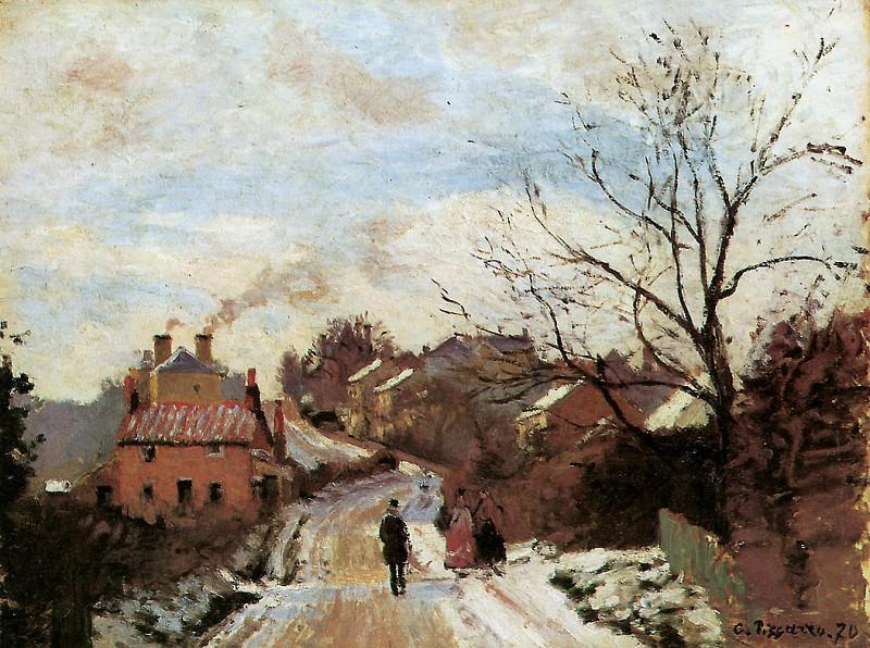 Lower Norwood. Camille Pissarro
