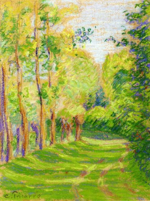 Landscape at Saint-Charles. Camille Pissarro