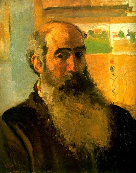 Self Portrait. (1873). Camille Pissarro
