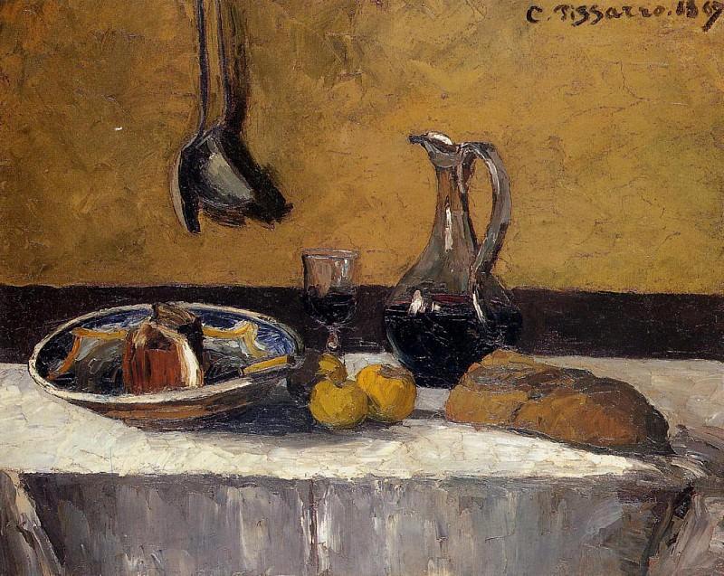 Still Life. (1967). Camille Pissarro