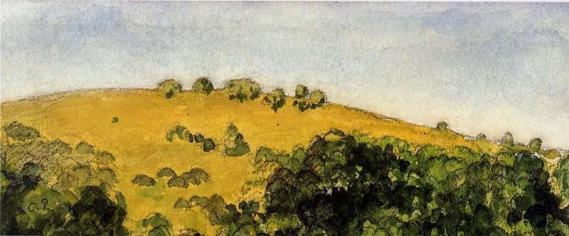 Landscape 3. Camille Pissarro