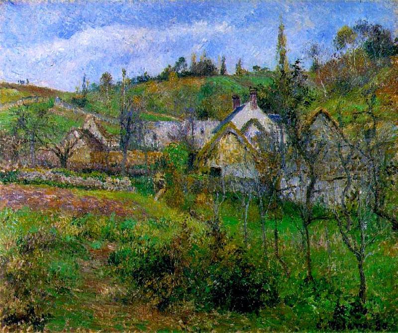 Le Valhermeil, near Pontoise. (1880). Camille Pissarro