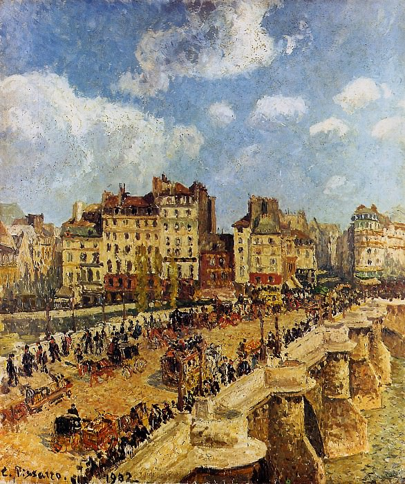 The pont Neuf. Camille Pissarro