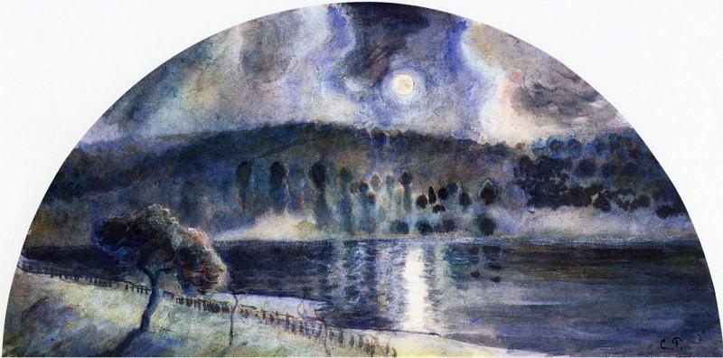 Пейзаж (1890). Камиль Писсарро