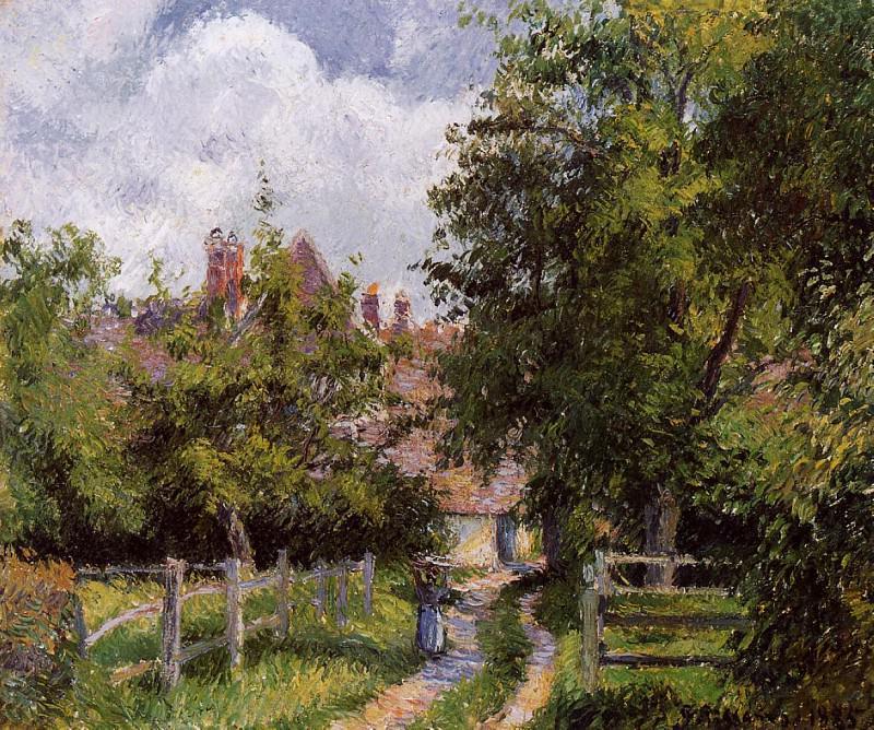Сен-Мартен, вблизи Жизора (1885). Камиль Писсарро