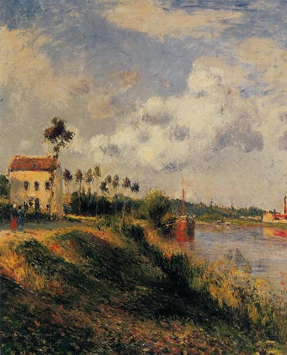 Дорога из Алаже. Понтуаз (1879). Камиль Писсарро