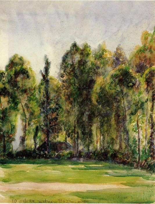 Landscape. (1880). Camille Pissarro