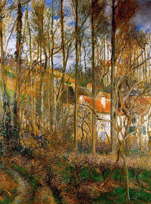 La Cфte des boeufs in Ermitage. Camille Pissarro