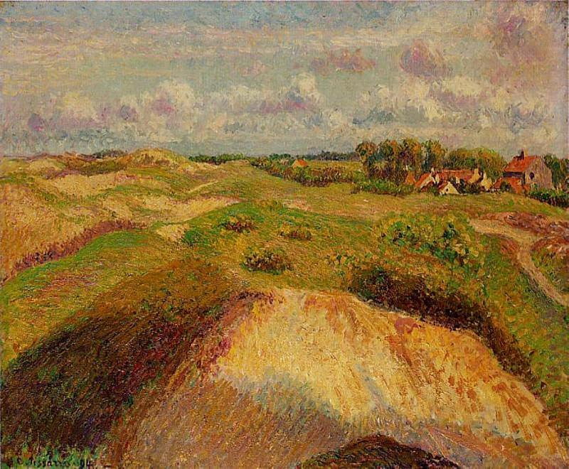 The Dunes at Knocke, Belgium. (1902). Camille Pissarro