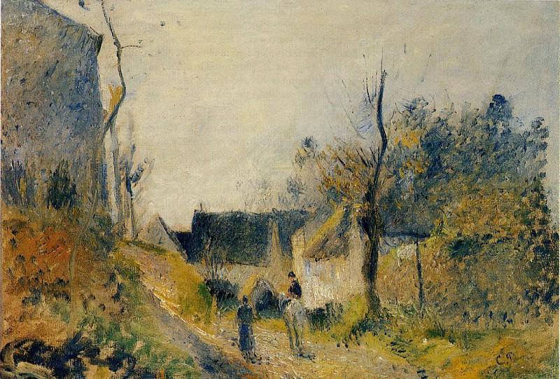 Пейзаж, Валермейль. (1878). Камиль Писсарро