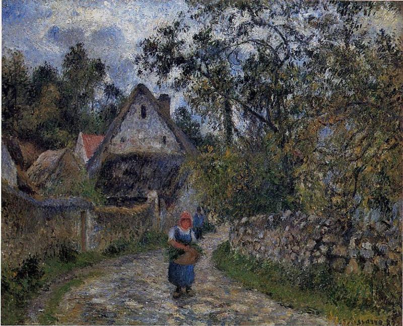 Деревенская дорожка (1880). Камиль Писсарро