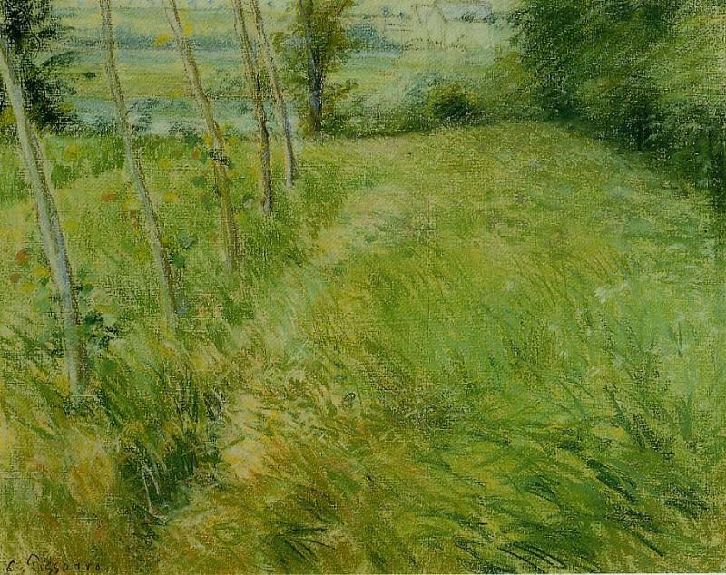 Пейзаж рядом с Понтуазом (1882). Камиль Писсарро