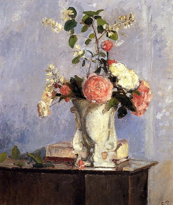 Bouquet of Flowers. Camille Pissarro