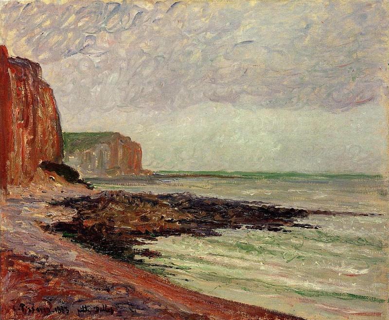 Cliffs at Petit Dalles. (1883). Camille Pissarro