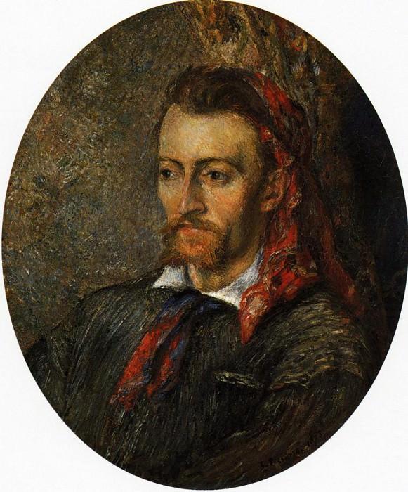 Portrait of Eugene Murer. (1878). Camille Pissarro
