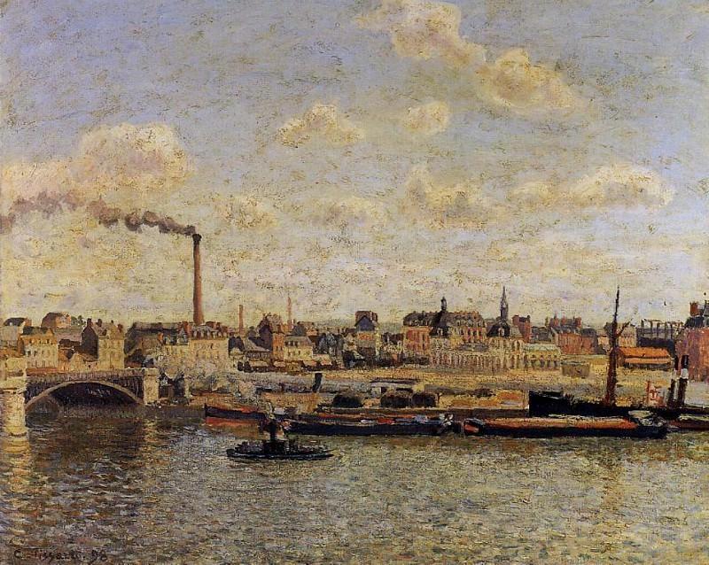 Руан, Сен-Север - День (1898). Камиль Писсарро