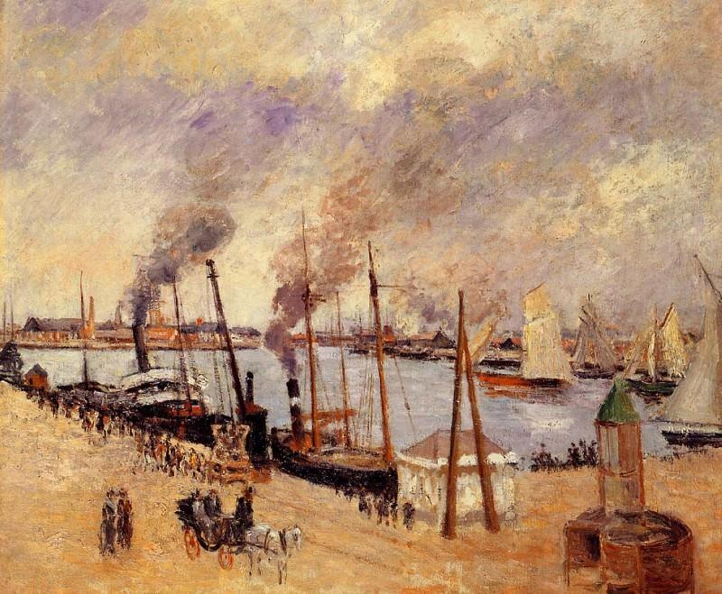 Порт Гавра 1903. Камиль Писсарро