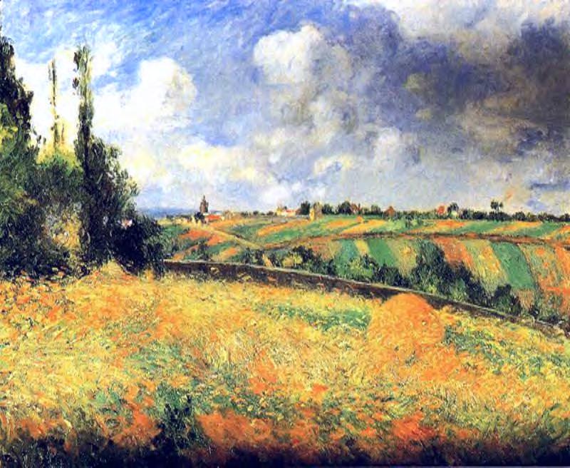 Fields. (1877). Camille Pissarro