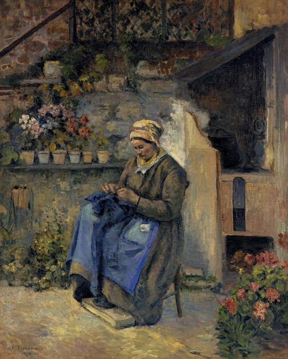 Mother Jolly. (1874). Camille Pissarro