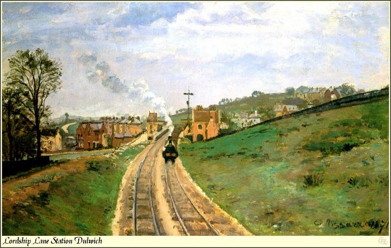 Republica SWD 033 Camille Pissarro-Lordshp Lane Stat Dulwich. Camille Pissarro