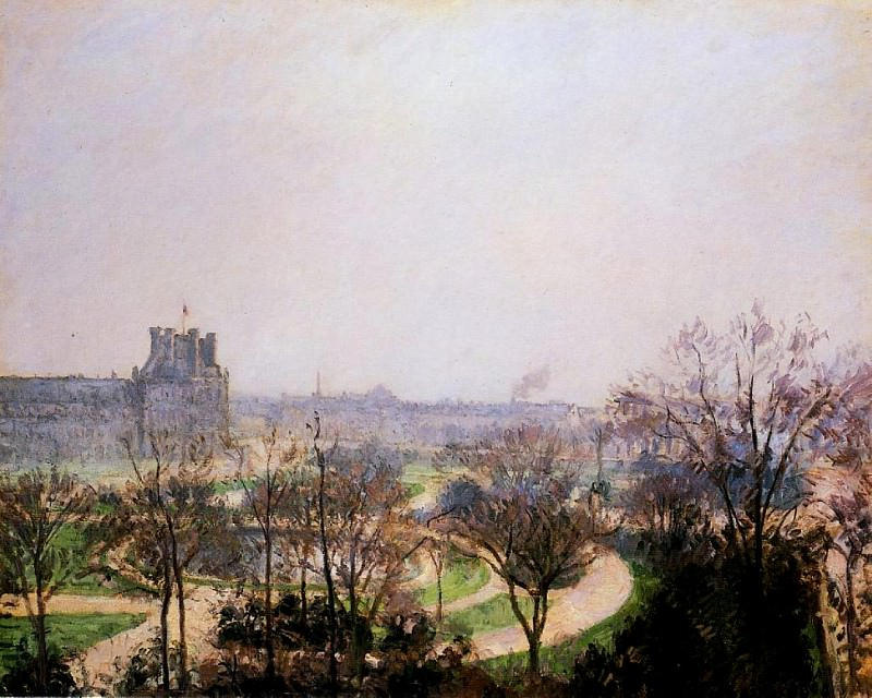 The Tuileries Gardens. (1900). Camille Pissarro