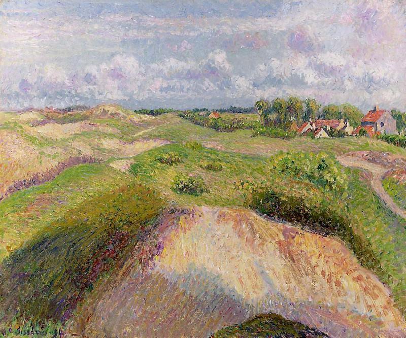 The Dunes at Knocke, Belgium. (1894). Camille Pissarro