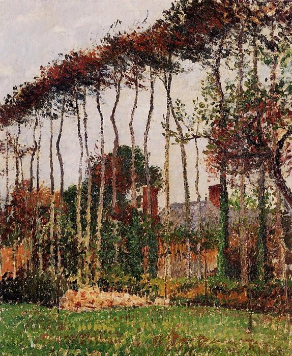 Landscape at Varengeville. (1899). Camille Pissarro