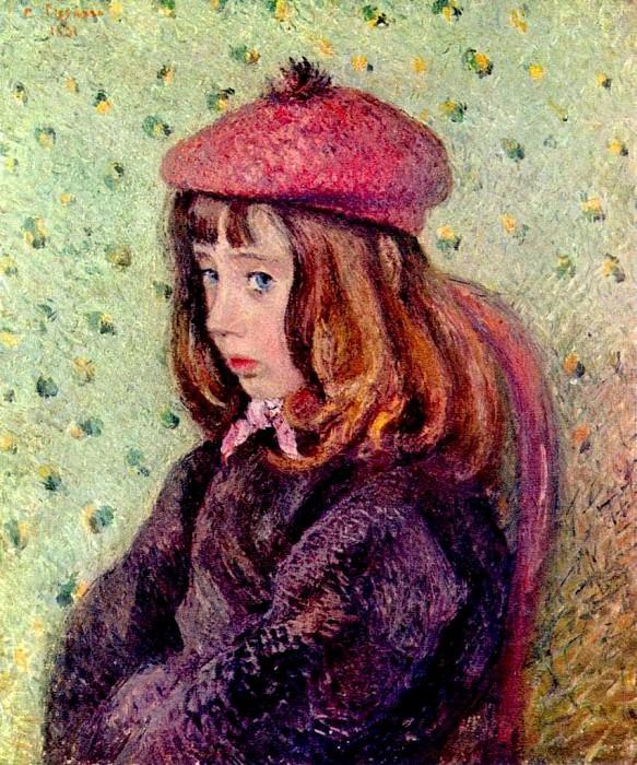 Portrait of Felix Pissarro . (1881). Camille Pissarro