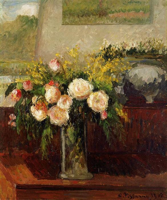 Roses of Nice. (1902). Camille Pissarro