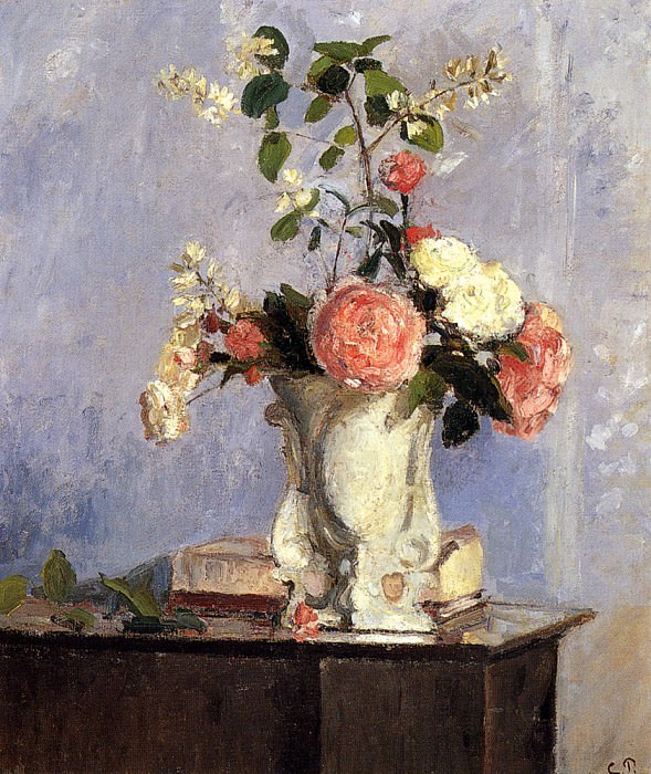 Bouquet Of Flowers. Camille Pissarro