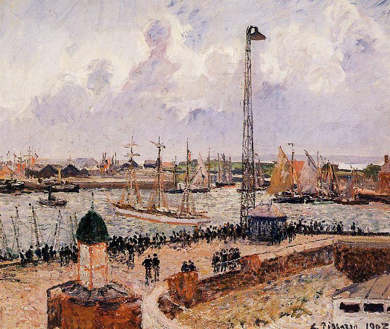 Внутренняя гавань, Гавр 1903. Камиль Писсарро