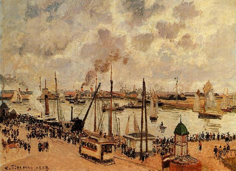 The Port of Le Havre. (1903). Camille Pissarro