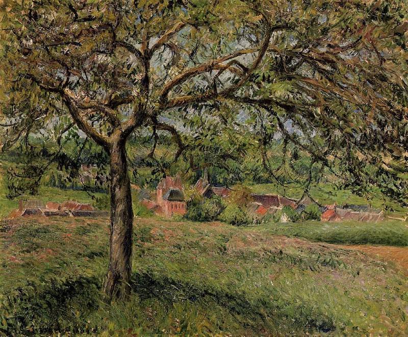 Apple Tree at Eragny. (1884). Camille Pissarro