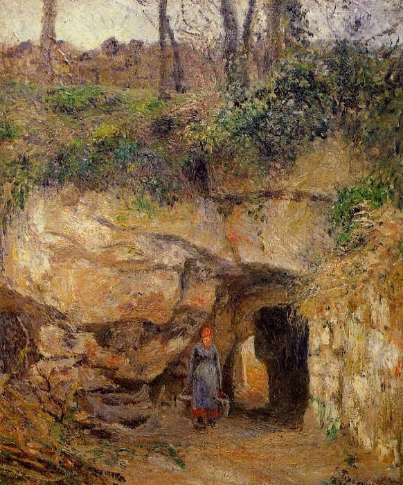 Каменоломня в селении Эрмитаж, Понтуаз (1879). Камиль Писсарро