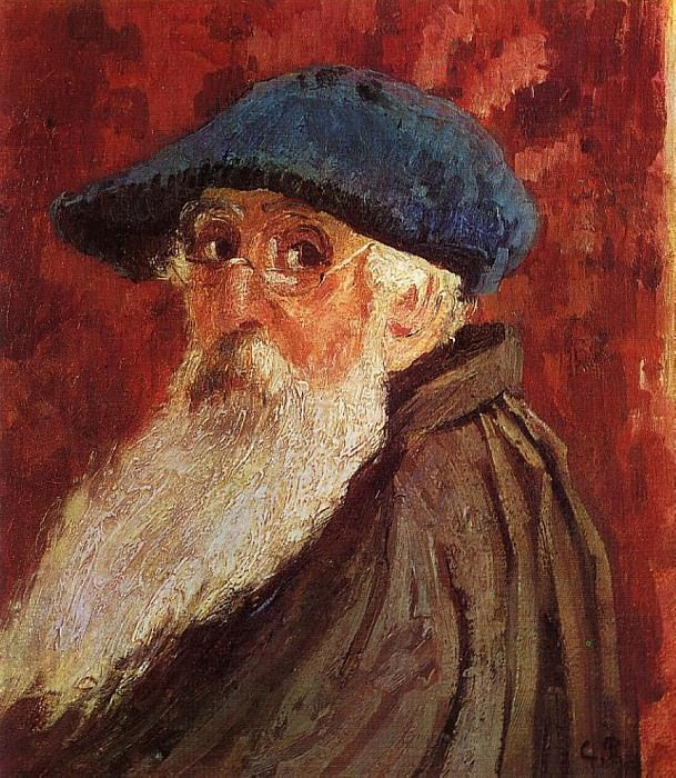 Self Portrait. (1900). Camille Pissarro