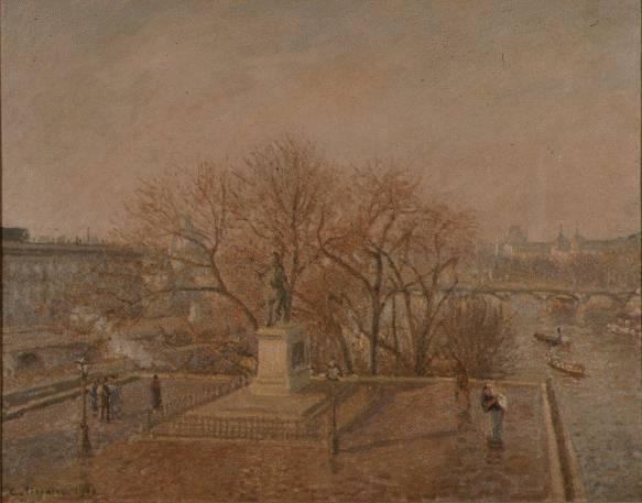 pissarro.pont-neuf. Camille Pissarro