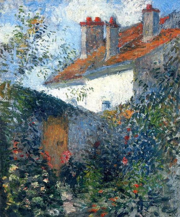 Study at Pontoise. (1878). Camille Pissarro